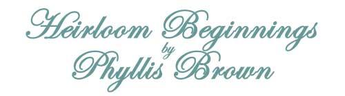 Heirloom Beginnings - Alice's T-Bonnet